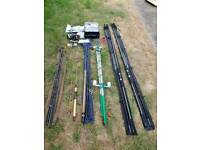 Fishing rods and gear