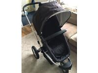 Mothercare My3 Travel System black