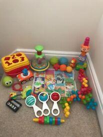 Large baby toy bundle