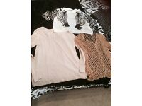 SIZE 14/16 SELECTION OF LADIES TOPS VARIOUS ITEMS