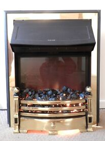 REAL COAL EFFECT ELECTRIC FIRE/HEATER