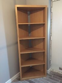 Next Beech Bookcase For Sale