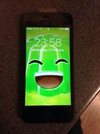 Iphone 5 16GB on o2 for sale £70