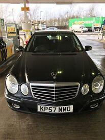 Mercedes E200 sami automatic Black
