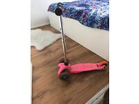 Mini micro scooter pink