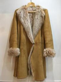 Sheepskin Ladies Coat