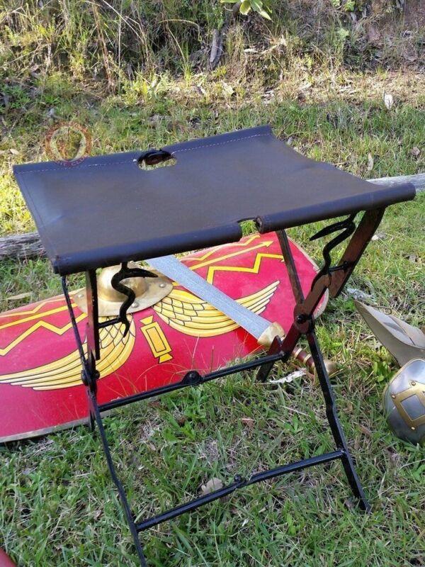 Ancient Roman Folding Stool for historical encampments and reenactors