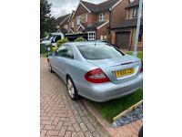 Reduced!!!!! Mercedes-Benz, CLK, Coupe, 2005, Semi-Auto, 2148 (cc), 2 doors