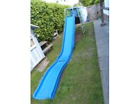 TP Climbing frame with slide, den, ladders and walkover, t bar swing, rope swing