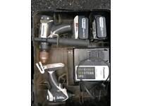 Panasonic 18v Lithium Brushless set