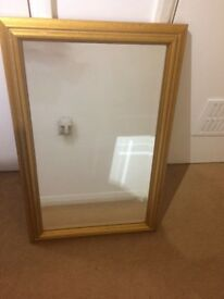 Bevelled glass high quality antique mirror