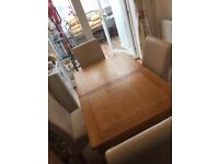 4 Dining Room Table Chairs from Furniture Village