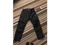 Brand New - Men's 2 XL motor bike trousers
