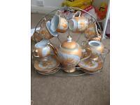 15 piece fine porcelain tea set