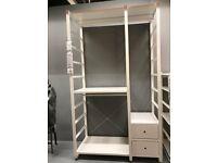Elvarli wardrobe/combination WAS £270.00 IKEA WARRINGTON #bargaincorner