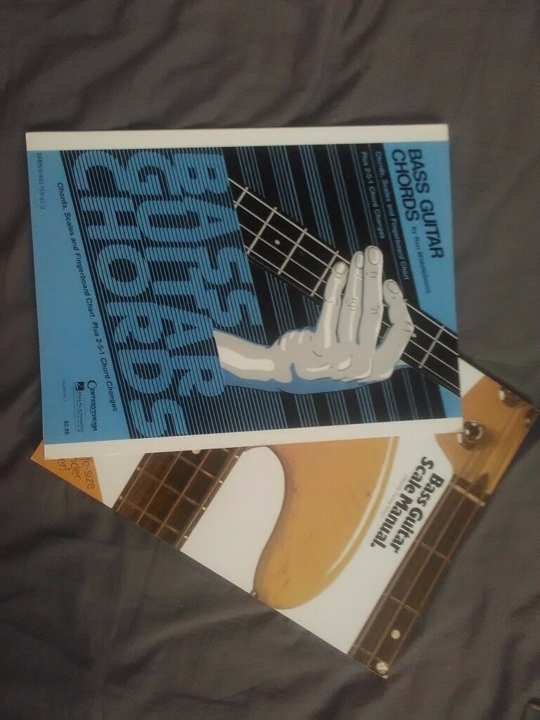 Bass Guitar Scale Book And Chord Chart In Whitchurch Cardiff