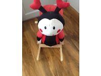 Toddler ladybird Rocker
