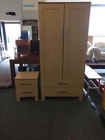 Wardrobe Set with Bedside Draws