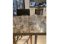 Polycarbonate drinks glasses