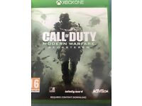 Call of Duty 4 Remastered (Xbox one)