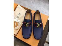 Louis Vuitton Loafers (Blue)
