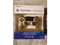 Brand New unopened Ps4 Controller - Gold colour