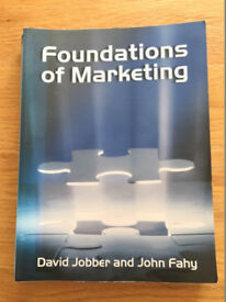 Foundations of Marketing by David Jobber and John Fahy
