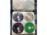 CD Folder Containing 100 CD's