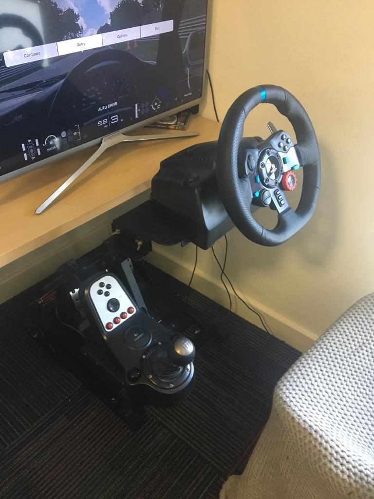 Logitech G29 with Shifter and Pro Stand | in Brighton, East Sussex | Gumtree