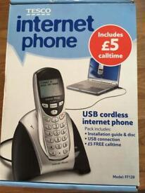 Telephone internet phone