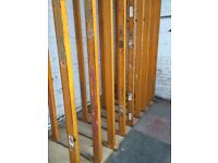 Industrial Pallet Racking. Good Quality Heavy Duty Metal. High Visibility Orange.