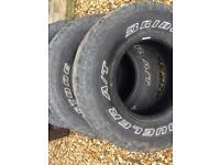 General grabber x4 31x10x50x15 s/h tyres all terrain