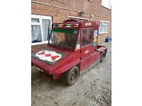 Austin Mini Scamp Kit Car Commercial Pickup Canal Boat Car Project
