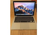 APPLE MACBOOK PRO RETINA 2015/16 INTEL CORE I5 2.7GHZ 8GB RAM 128GB FLASH WIFI WEBCAM OS X