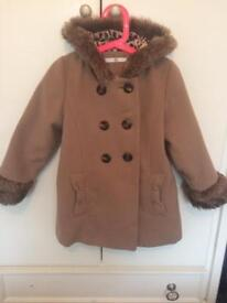 Marks and Spencer's girls coat 6-7years
