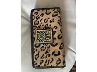 Biba Wallet Women's purse leotard print leather NEW RRP £190