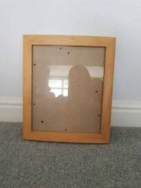 12x10 inch wooden frame x2
