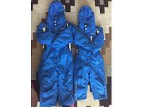 Boys ski-suits