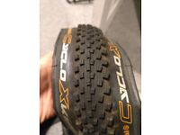 Cyclocross/gravel bike tyres, as new condition