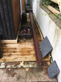 PVC gutters
