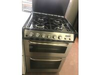 55CM STAINLESS STEEL ZANUSSI GAS COOKER