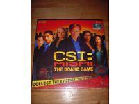 CSI: Miami Board Game