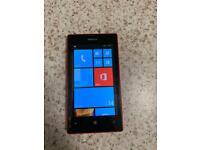 Nokia lumia 520 mobile phone on O2 network