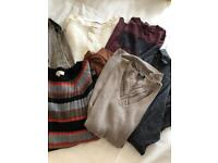 LADIES - Bundle of Jumpers / Tops / Oversized Cardigans - Size 8-10