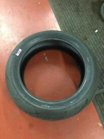 X1 Pirelli SC2 180/60ZR17 75W + x1 Pirelli SC1 120/70ZR17 58W race tyres