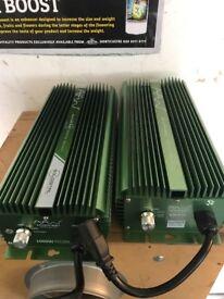 Cheshunt Hydroponics Store - used 1000w Adjustawatt ballasts digital dimmable