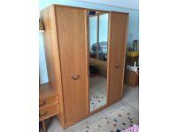 G Plan Bedroom Wardrobe in Teak Finish