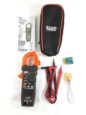 New Klein Tools Cl390 400a Acdc Auto-ranging Digital Clamp Meter