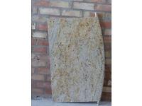 Granite fireplace shelf/hearth