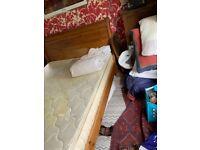 King size mattress (used & free)